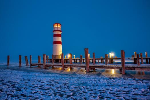 Leuchtturm von Podersdorf