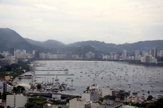 BOTAFOGO DER WELTBEKANNTE JACHTHAFEN IN RIO DE JANEIRO