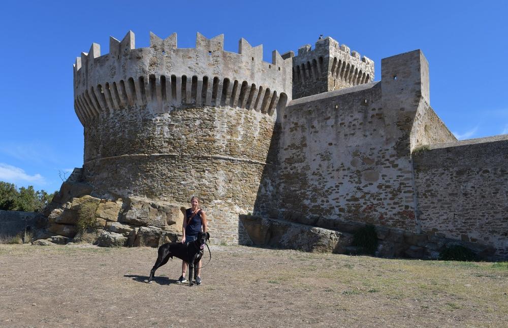 Die mächtigen Mauern von Populonia