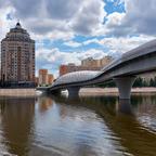 Moderne Brücke