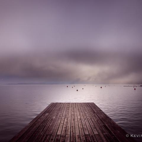 Nebel- Ausblick