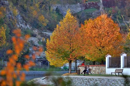 Herbst in Krumau an der Moldau (2)