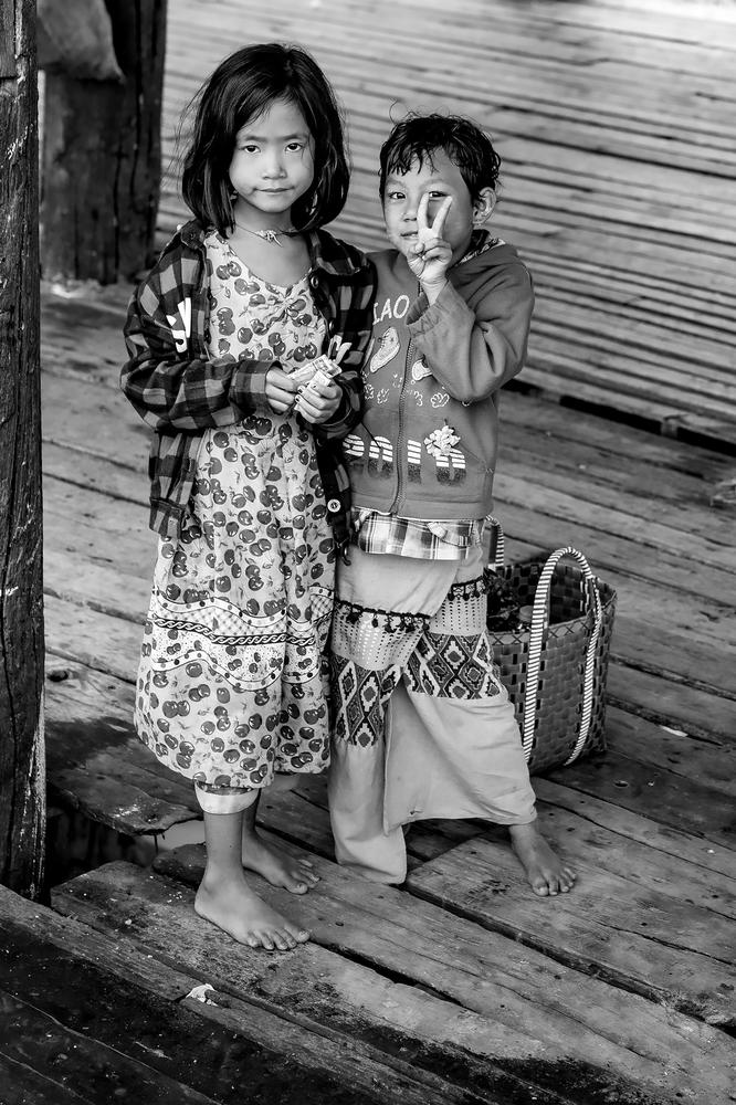 Am Steg in Mandalay