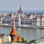 Parlamentsgebäude - Budapest