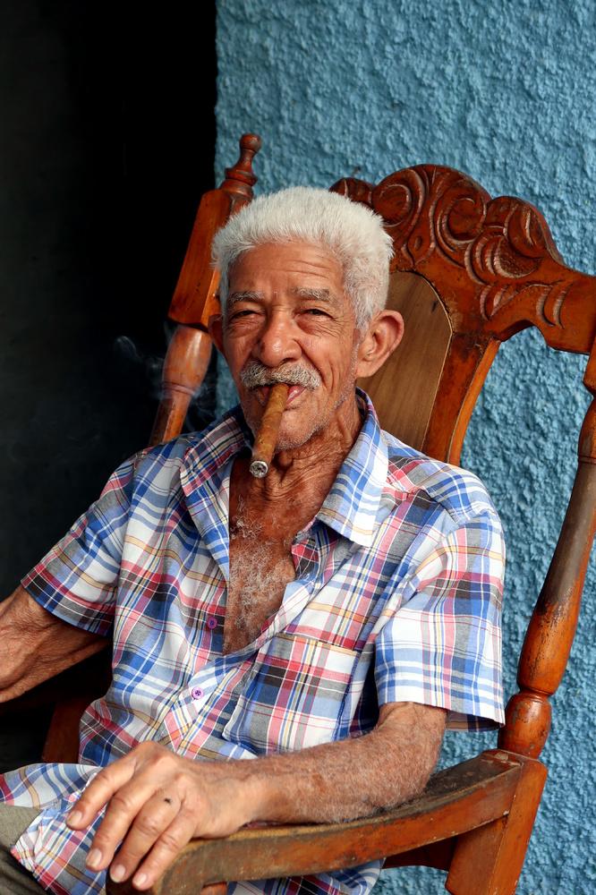 Zigarrengenuss auf Kuba