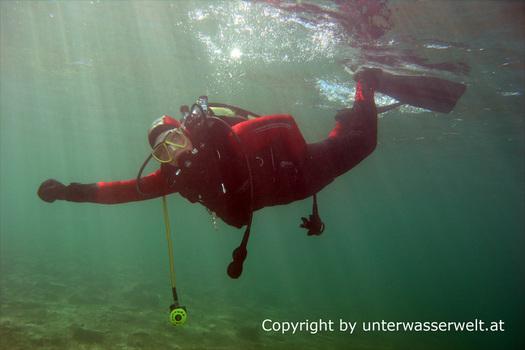 Unterwasser - Tauchen Attersee