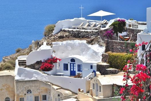 Höhlenwohnung  Oia - Santorini