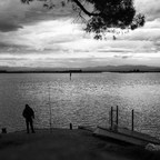 Morgens an der Lagune ...