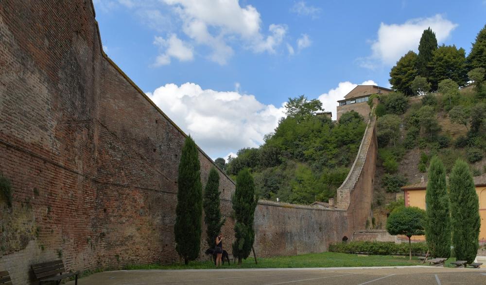 Stadtmauer von Siena