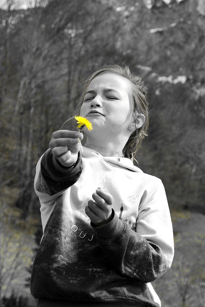 eine Blume für dich :D