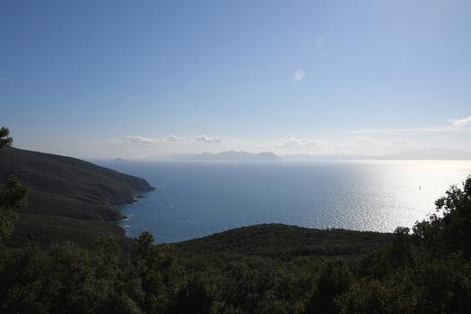 Blick nach Elba