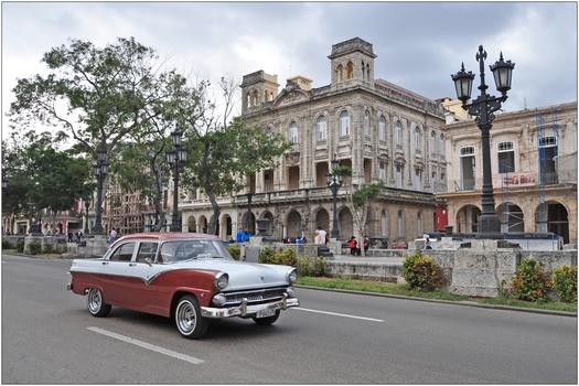 Kuba, La Habana, Paseo de Martí