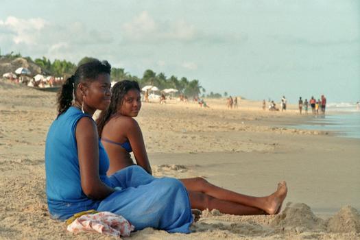 STRANDLEBEN IN BAIXIO - BAHIA -BRASILIEN