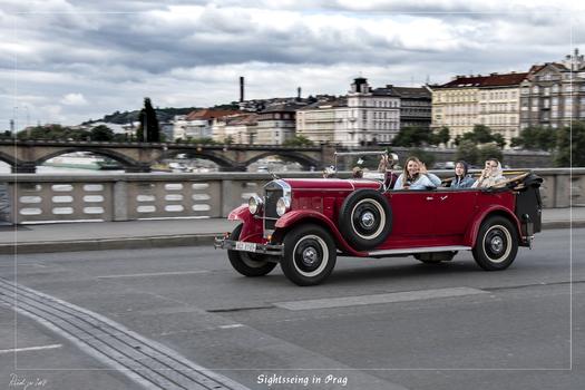 Sightsseing in Prag