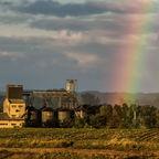 Nach Unweter-Sonne und Regenbogen