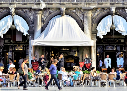 Caffe Florian / Markusplatz / Venedig