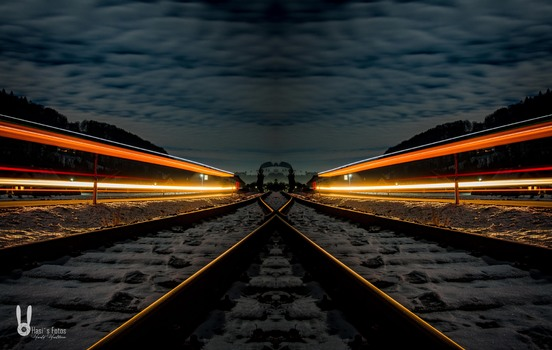 Eisenbahn trifft Strasse