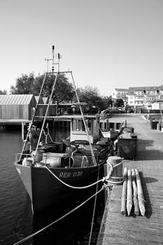 Startklar zur Ausfahrt aus dem Hafen von Rerik  am Salzhaff