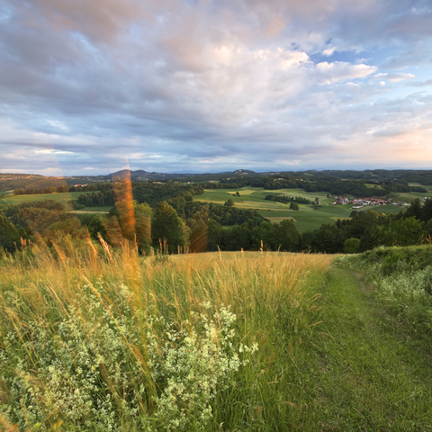 Blick ins Südburgenland