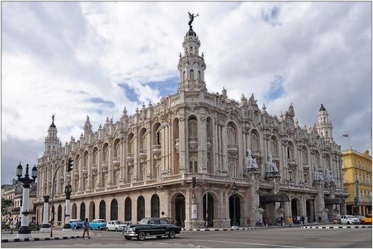 Kuba, La Habana, Gran Teatro