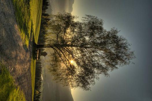 Sonnenaufgang Inntal