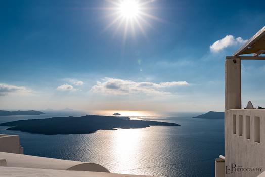 Sun of Santorini