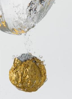 Gold im Wasser