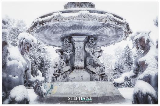 Stadtparkbrunnen in Graz