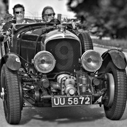 old Bentley nine