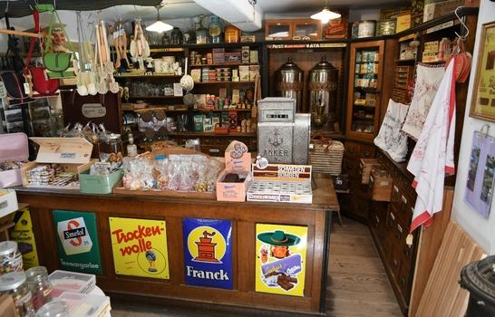 Der Laden in der Krämerei (Freilichtmuseum Großgmain)