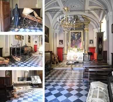 Kleines Totengräbermuseum ...