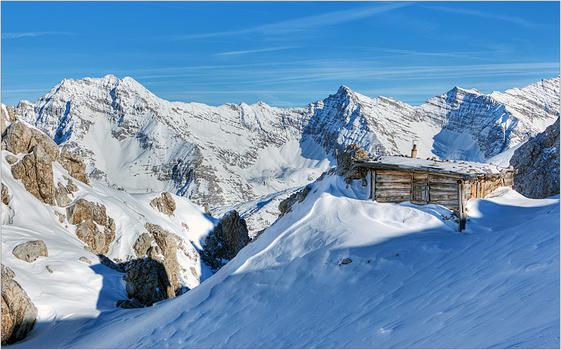 Berghütte auf 2.300 m.ü.N.N