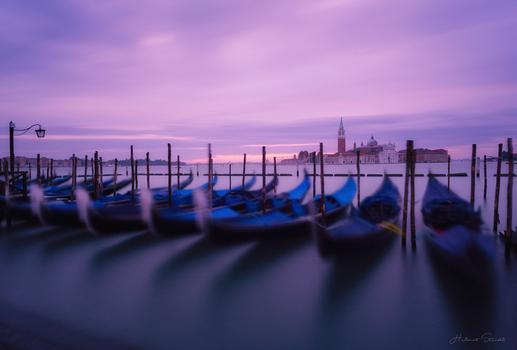 Venedig Morgen Impression