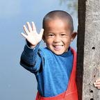 typisch Myanmar - freundlich