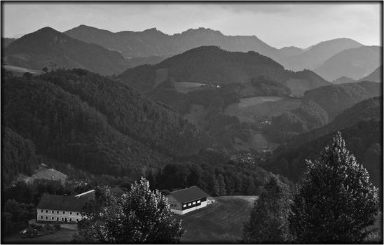 Landschaft im Ennstal