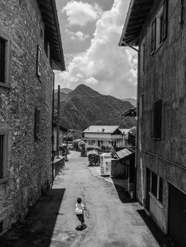 Street in Anfo