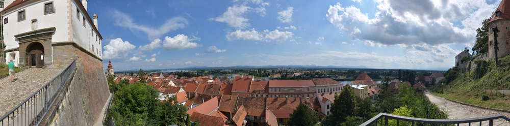 Ptui (Slowenien) Burgaufgang