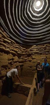 Tomba dei Carri, Innenansicht (Nekropole Populonia)