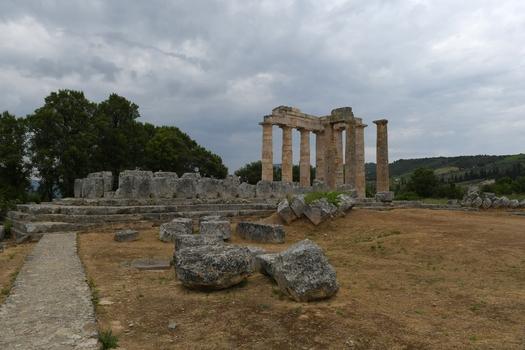 Nemea (Heiligtum), der Zeus Tempel
