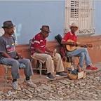 Kuba, Trinidad, Straßenmusik