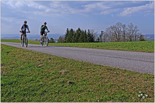 Biking im Frühling