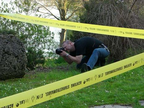 Vorsicht freilaufender Fotograf !!