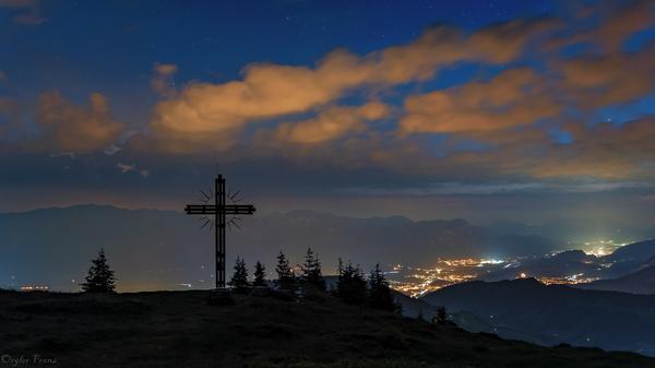 Haben Sie Tirol schon bei Nacht gesehen