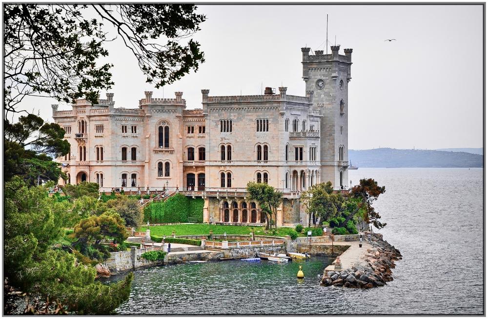 Castello di Miramare / Grignano / Italien (2)