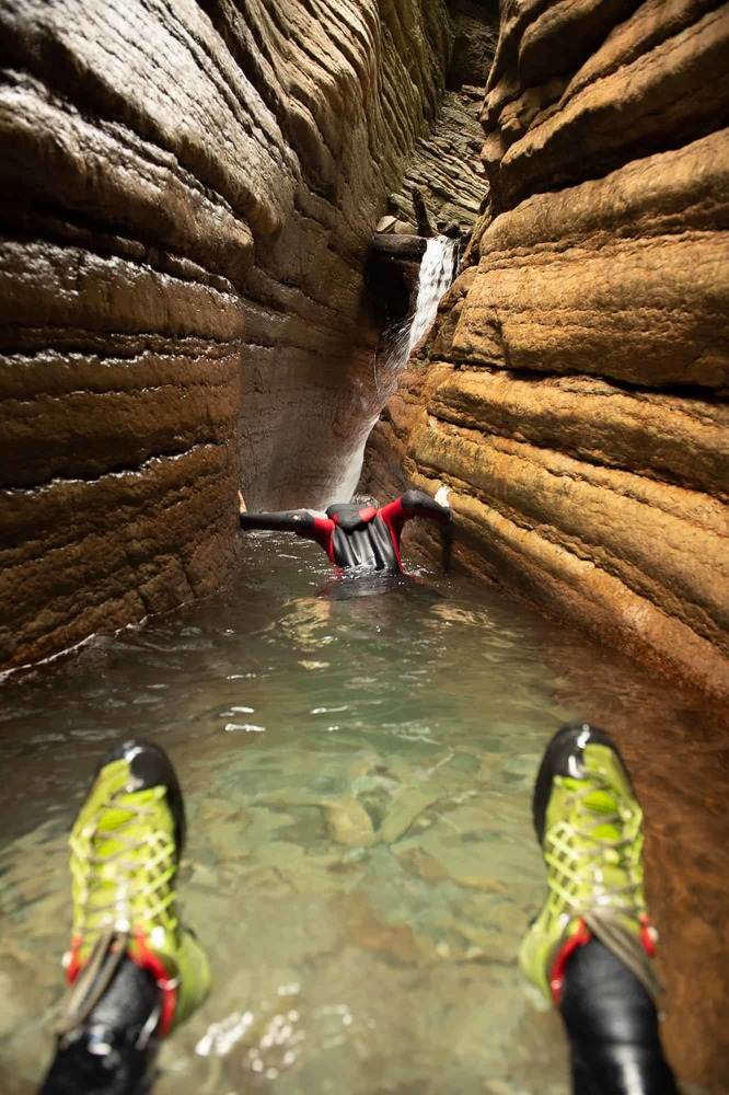 Spass im Red Canyon ...