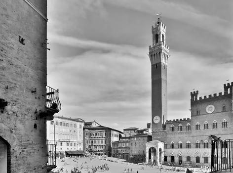 Piazza del Campo - Siena / Toskana / Italien