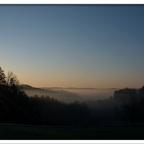 Sonnenaufgang im Nebel 2