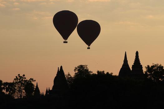 Balloonfahrt über Bagan