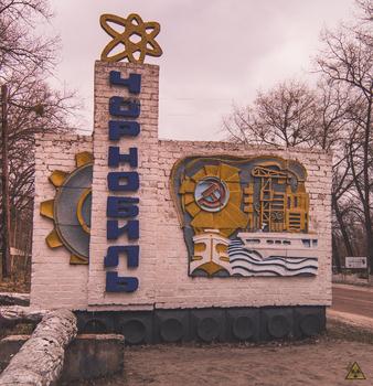 Ortseingang Chernobyl
