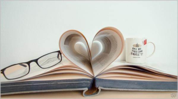 Ein Herz für Bücher